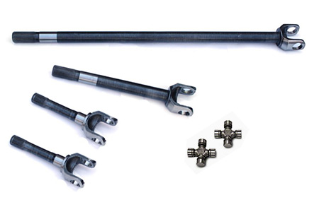 Yukon Front 4340 Chromoly Replacement Axle Kit For 85 88 Ford Dana 60 With 35 Splines